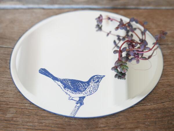 Bird Round Mirror detail | specchio tondo | BiCA-Good Morning Design