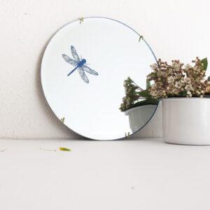 Specchio tondo design Libellula | BiCA-Good Morning Design