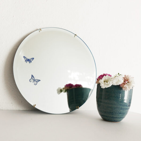 Butterflies Round Mirror | specchio tondo decorativo | BiCA-Good Morning Design