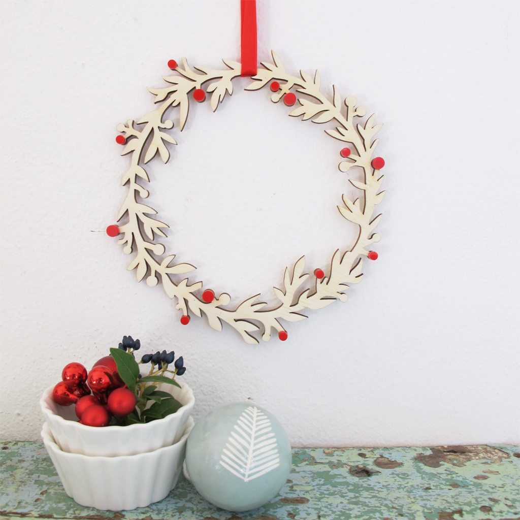 Wooden Christmas Wreath | BiCA-Good Morning Design