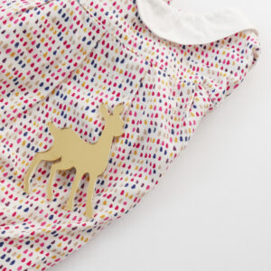 Bambi brooch on shirt | Spilla Bambi | BiCA-Good Morning Design