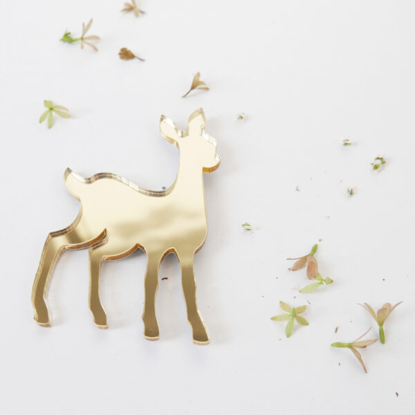 Bambi brooch | Spilla Bambi | BiCA-Good Morning Design