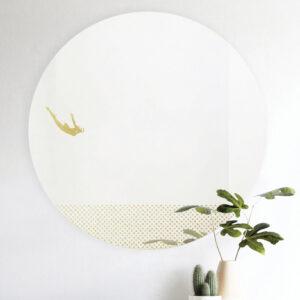 Grand pic | round mirror 60 cm | Female |BiCA-Good Morning Design