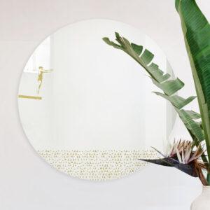 Grand pic | M | Round mirror 60 cm | BiCA-Good Morning Design