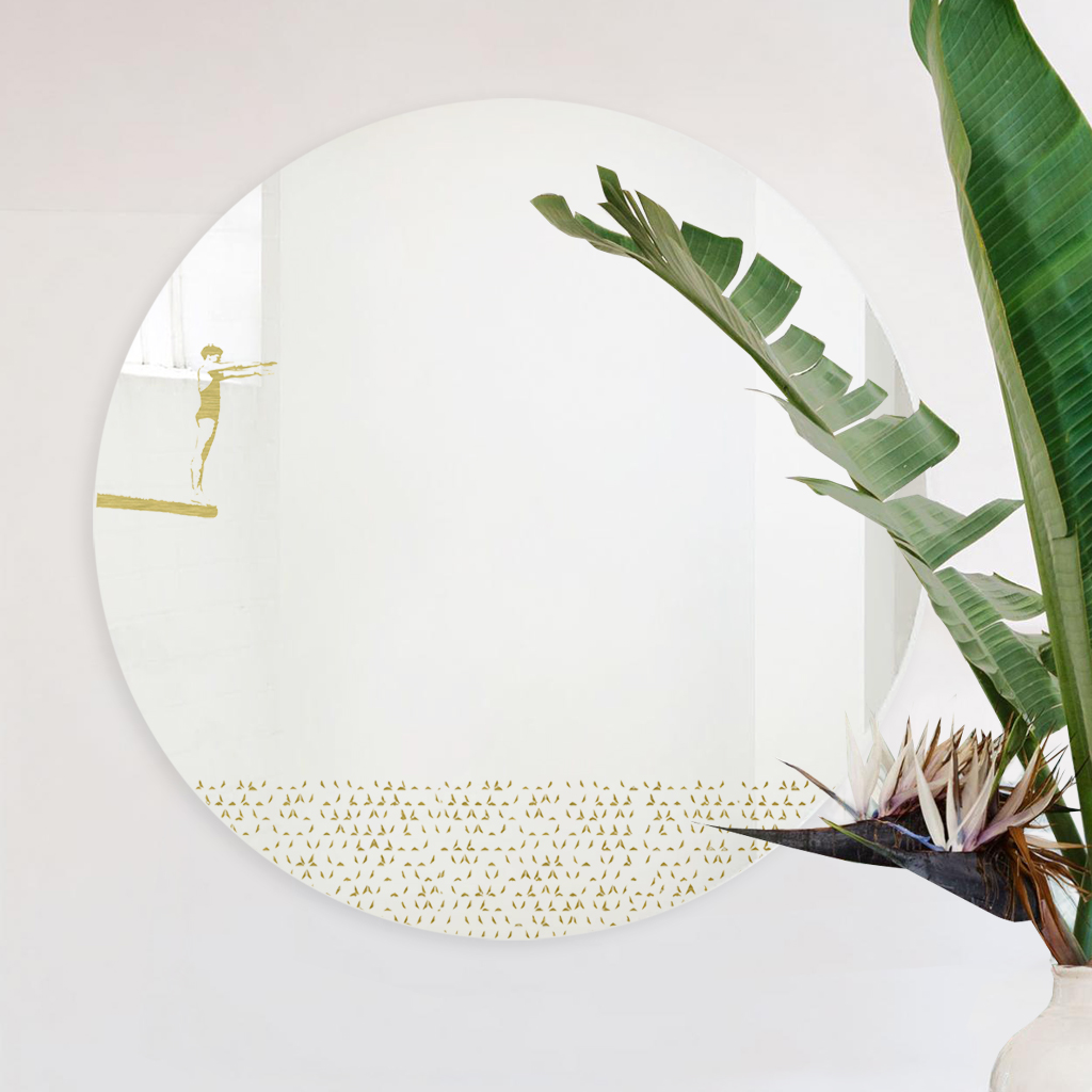 Grand pic | M | Round mirror 60 cm | BiCA-Good Morning Design