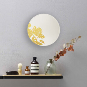 Monstera round mirror | Mirror of wonders | BiCA-Good Morning Design
