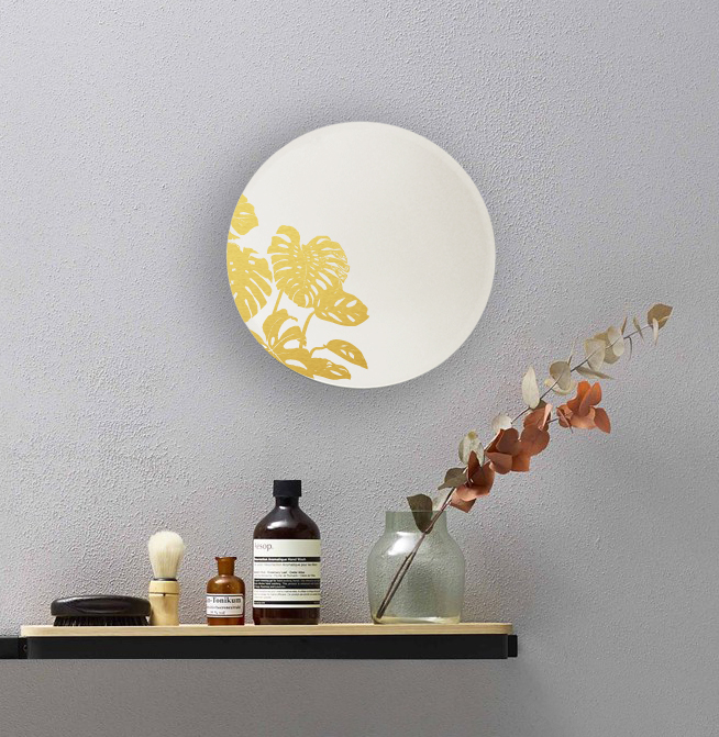 Monstera round mirror | Mirror of wonders | BiCA-Good Morning Design