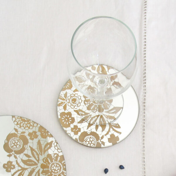 Bon Ton Chic   Gold mirror   BiCA-Good Morning Design