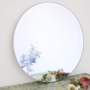 Specchio PUNICA GRANATUM | Specchio tondo decorato | BiCA-Good Morning Design
