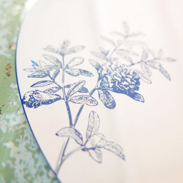 Punica Granatum L detail | Round Mirror | BiCA-Good Morning Design
