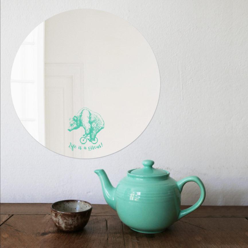 Bear | Specchio tondo design by BiCA-Good Morning Design