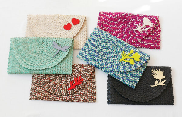 Straw Clutch Bag | group A | BiCA-Good Morning Design