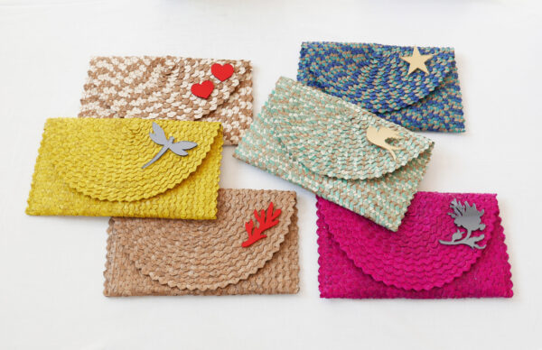 Straw Clutch Bag | group B | BiCA-Good Morning Design