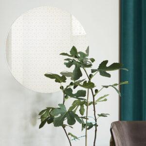 Little Cube | Specchio tondo 60 cm | BiCA-Good Morning Design