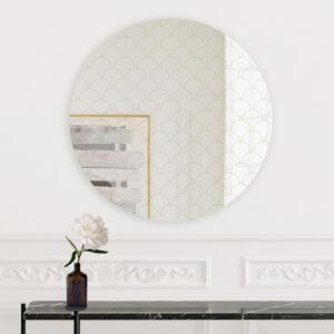 Ventaglio | Specchio tondo grande | BiCA-Good Morning Design