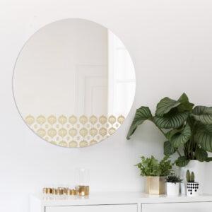 Pavone | Specchio tondo grande | BiCA-Good Morning Design