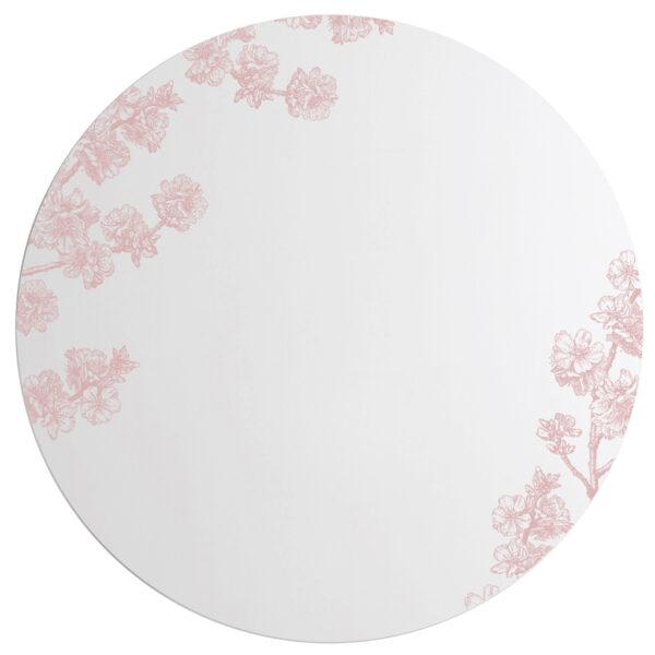Prunus | Grande Specchio tondo rosa | BiCA-Good Morning Design