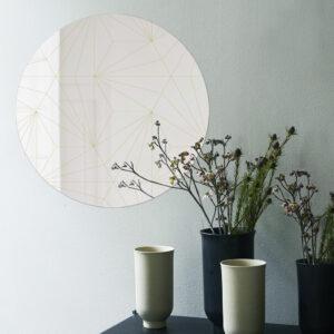 Cross | Specchio tondo 60 cm | BiCA-Good Morning Design