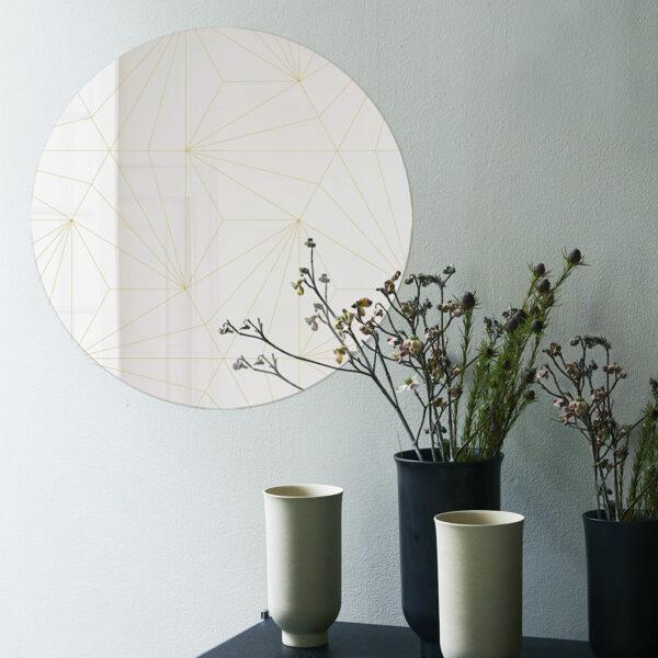Cross   Specchio tondo 60 cm   BiCA-Good Morning Design