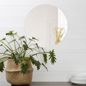 Specchio rotondo grande di design | ELEFANTE | Animalia round mirrors | BiCA-Good Morning Design