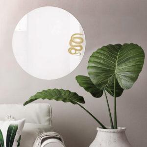 Specchio rotondo grande di design | SERPENTE | Animalia round mirrors | BiCA-Good Morning Design