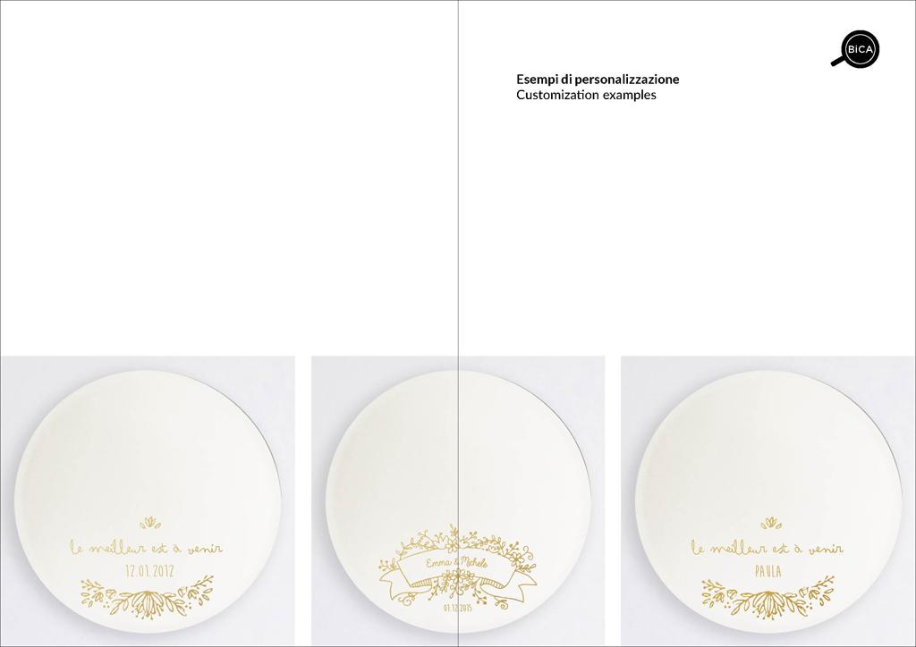 Specchi Custom con scritte, personalizzabili | specchio tondo decorato di design italiano | specchi per regali originali  matrimoni, battesimi ed eventi  | BiCA-Good Morning Design