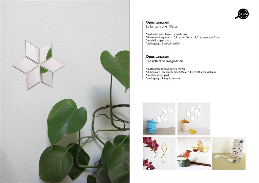 Specchi decorativi adesivi per pareti | specchi decoro cameretta bambini | BiCA-Good Morning Design