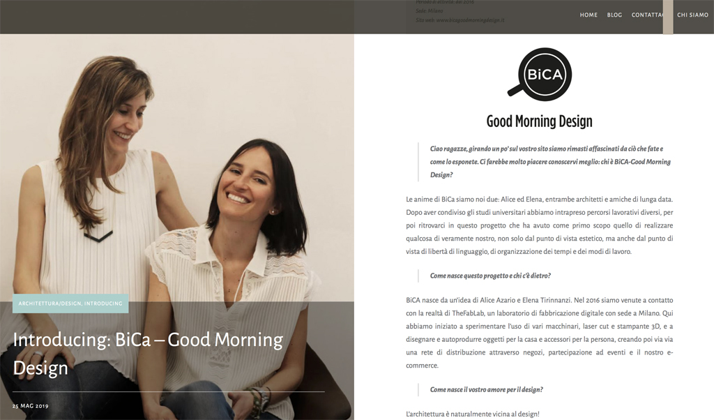 Siloud | Specchi e gioielli design | BiCA-Good Morning Design
