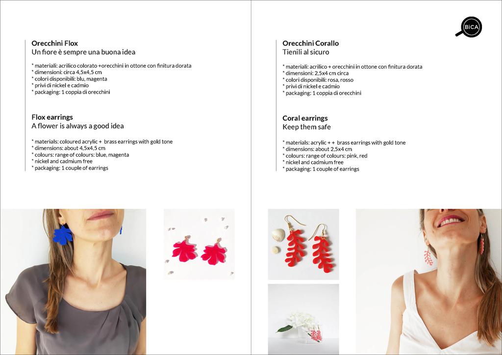 Orecchini pendenti shop online spedizioni gratis | BiCA-Good Morning Design