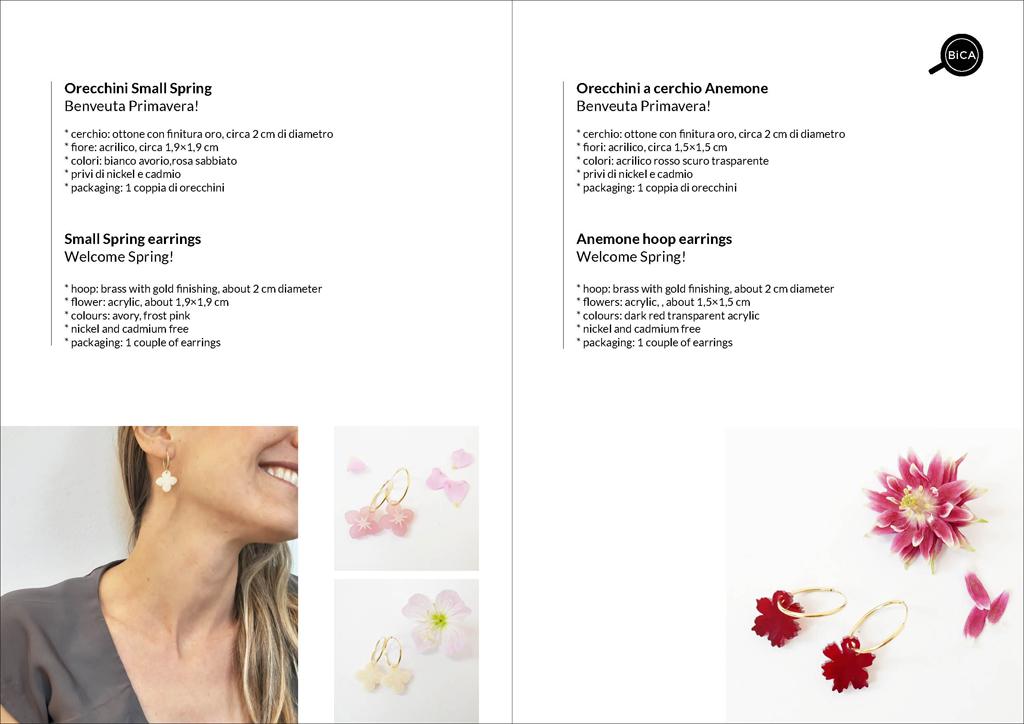 orecchini a cerchio| Milano design | Collane shop online spedizioni gratis | BiCA-Good Morning Design