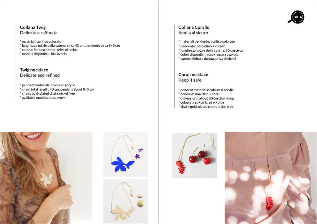Collane design Milano | BiCA-Good Morning Design