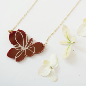 Blossom | collana floreale | flower statement NECKLACE | BiCA-Good Morning Design