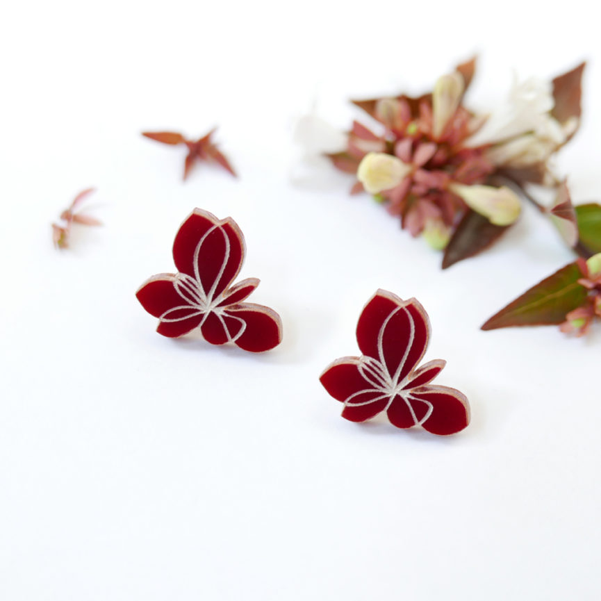 Small Blossom | orecchini floreali | flowers earrings | BiCA-Good Morning Design