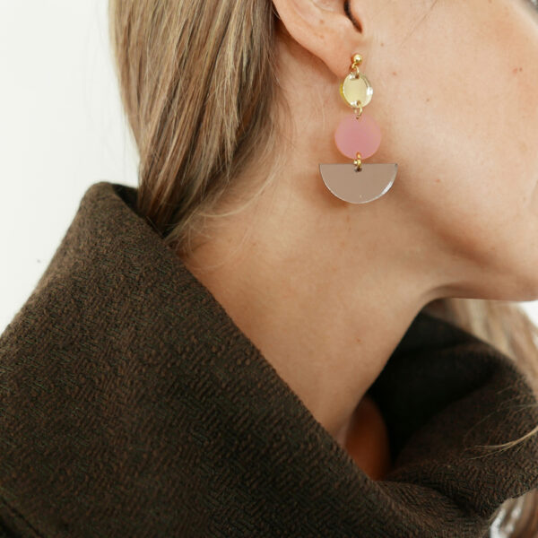 JAZZ orecchini geometrici | street style earrings | BiCA-Good Morning Design