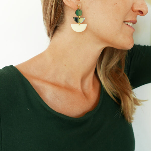 JAZZ orecchini geometrici | street style earrings | BiCA-Good Morning Design