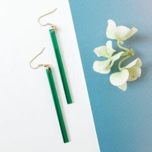 LINE orecchini geometrici | minimal earrings | BiCA-Good Morning Design