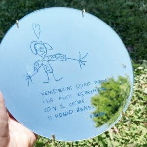 Specchio unico | regalo bambini | regalo personalizzato | BiCA-Good Morning Design