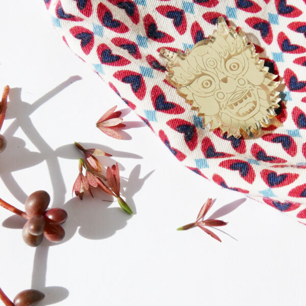 SPILLA DRAGO Zodiaco Cinese oro | Oroscopo cinese | OROSCOPO calendario cinese | BiCA-Good Morning Design