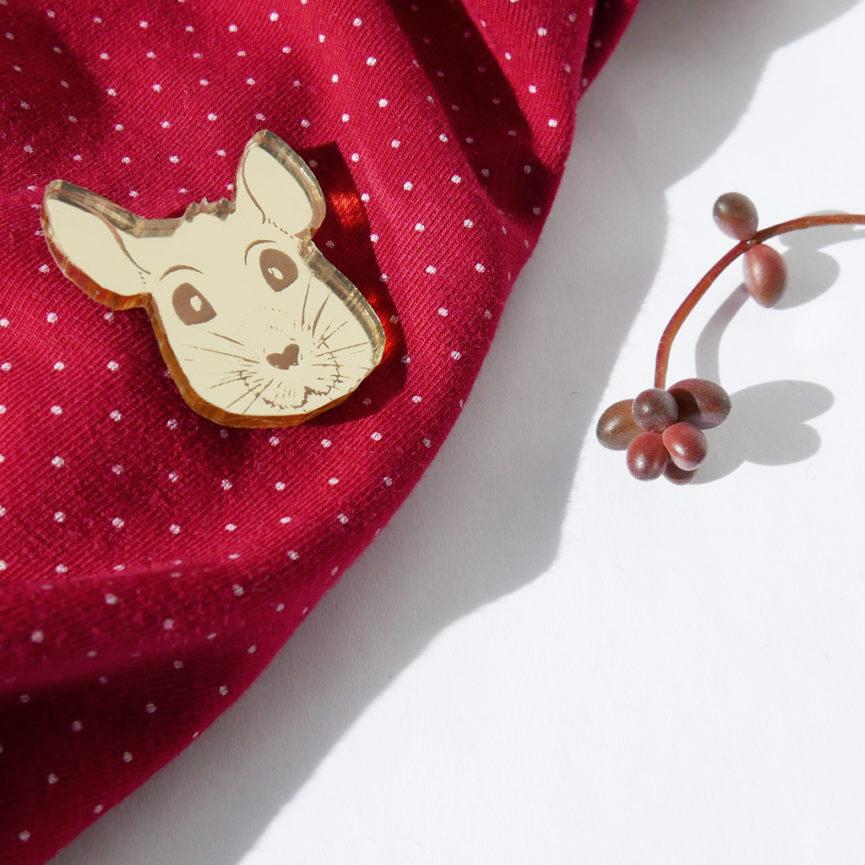 TOPO | SPILLA Zodiaco Cinese oro | Oroscopo cinese | OROSCOPO calendario cinese | BiCA-Good Morning Design