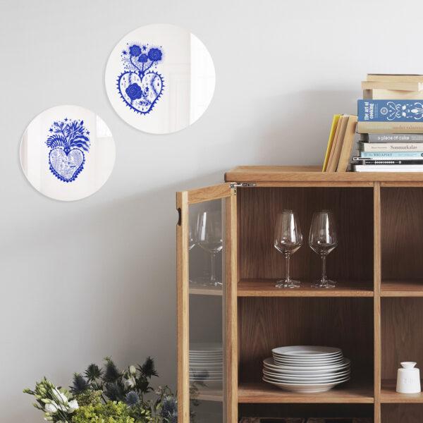 Specchi Cuore Sacro | Enrica Mannari | BiCA-Good Morning Design