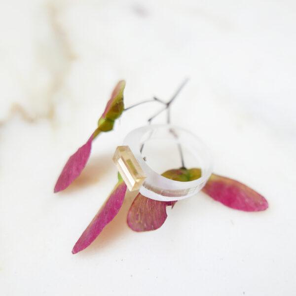 Icy. Anello minimal di design | Gioielli Milano | BiCA-Good Morning Design