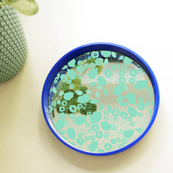 vassoio in stampa 3d con specchio decorato   illustrazione di Monika Fosrberg   BICA - GOOD MORNING DESIGN